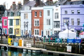 Weymouth - Swans, Boats, Trains & Castles